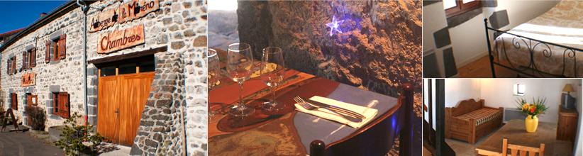 Auberge de la mor no restaurant chambre h bergement pr s - Chambre d hote pres de clermont ferrand ...